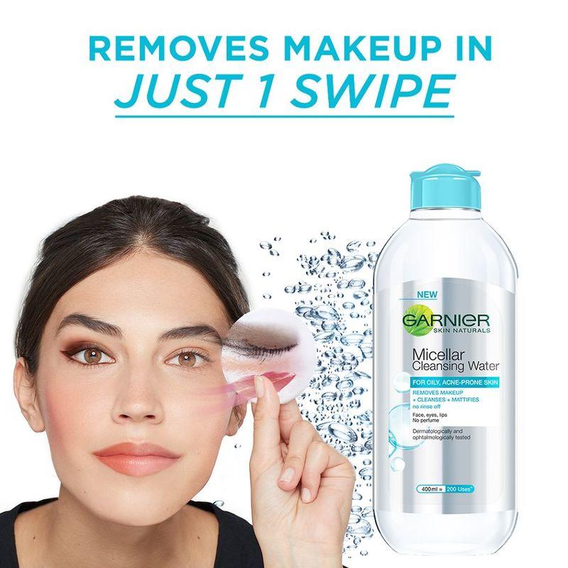 Garnier Skin Naturals Micellar Cleansing Water (For Oily, Acne Prone Skin) 125ml