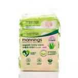 Mannings Organic Babywipe 20pcs X5bags