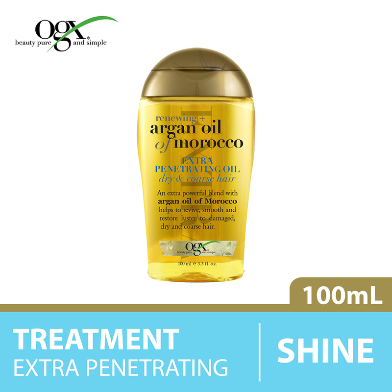 Ogx Renewing + Argan Oil of Morocco Extra Penetrating Oil, 100ml