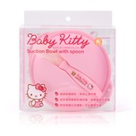 Hello Kitty Suction Bowl And Spoon Kit