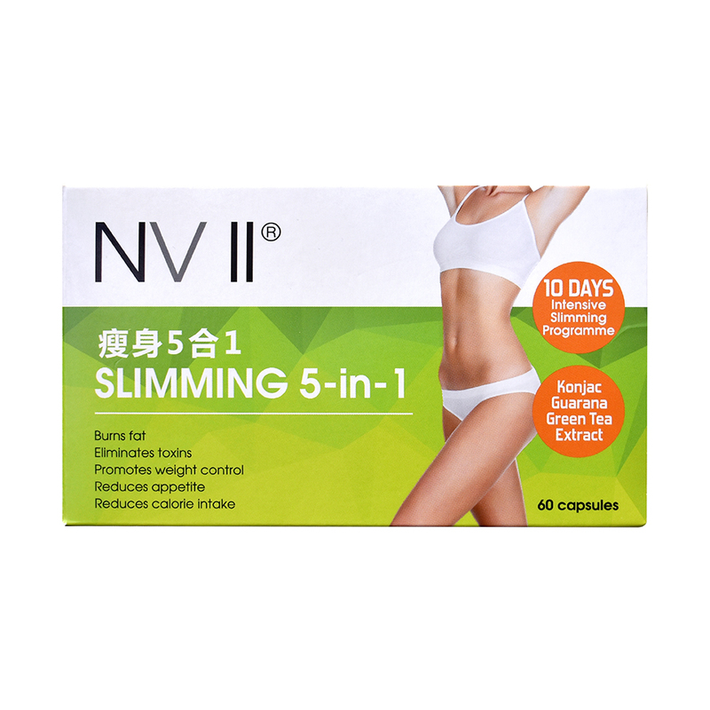 NV II Slimming 5-in-1, 60pcsx500mg