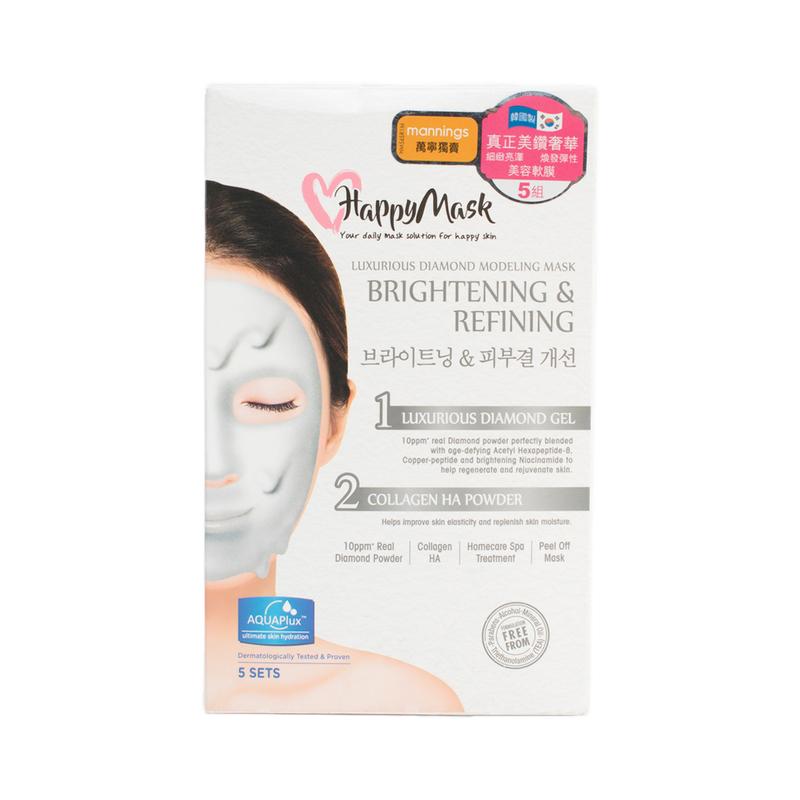 Happy Mask Luxur Diamond Modeling Mask 5pc
