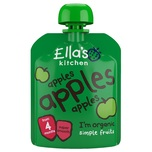 Ella's Kitchen Organic Apples Smoothie Fruit 70g