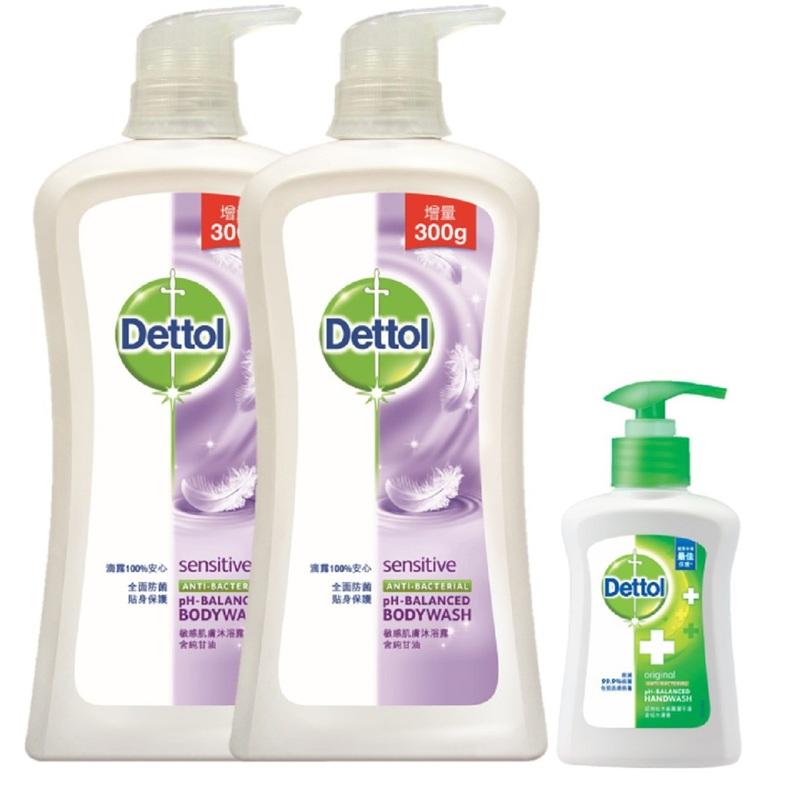 Dettol Shower Foam (Sensitive) 950gX2pcs