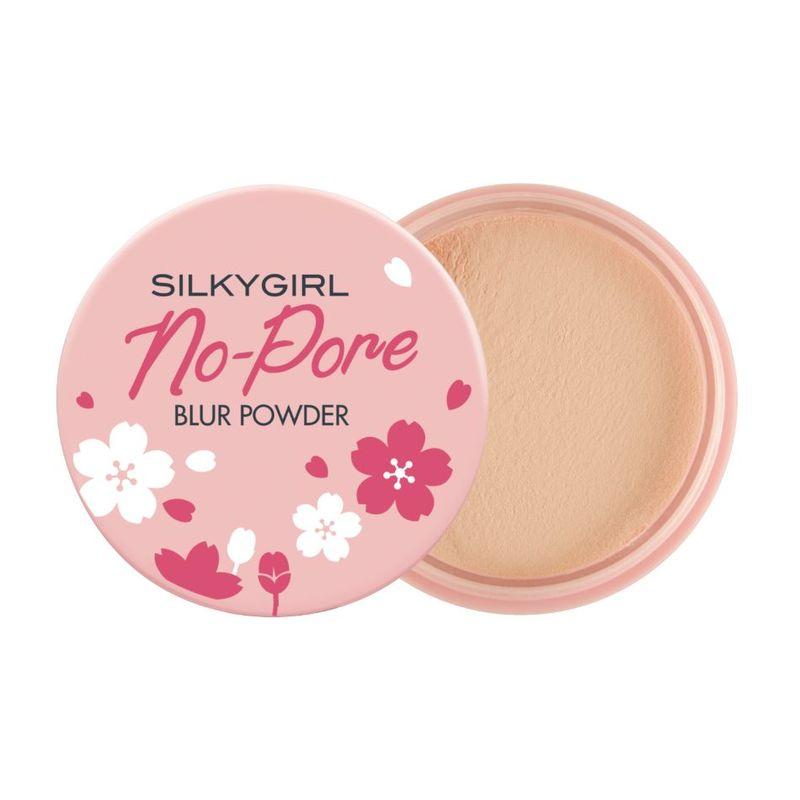 SilkyGirl No-Pore Blur Powder 01 Natural