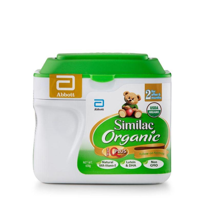 Similac Organic Follow on Formula Stage 2 658G (6-36M)