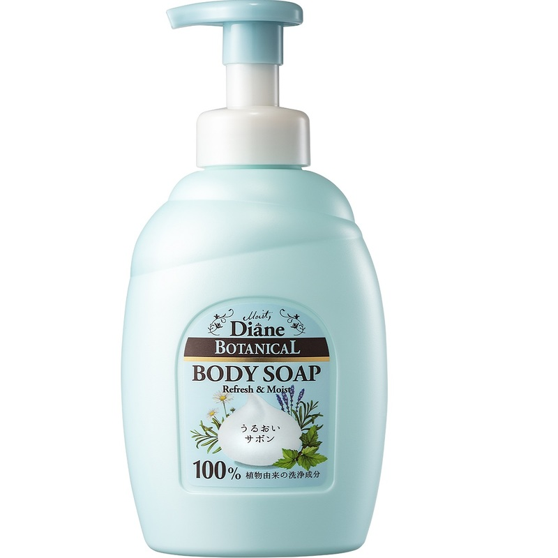 Moist Diane Botanical Foaming Whip Body Soap (Refresh&Moist) 800mL
