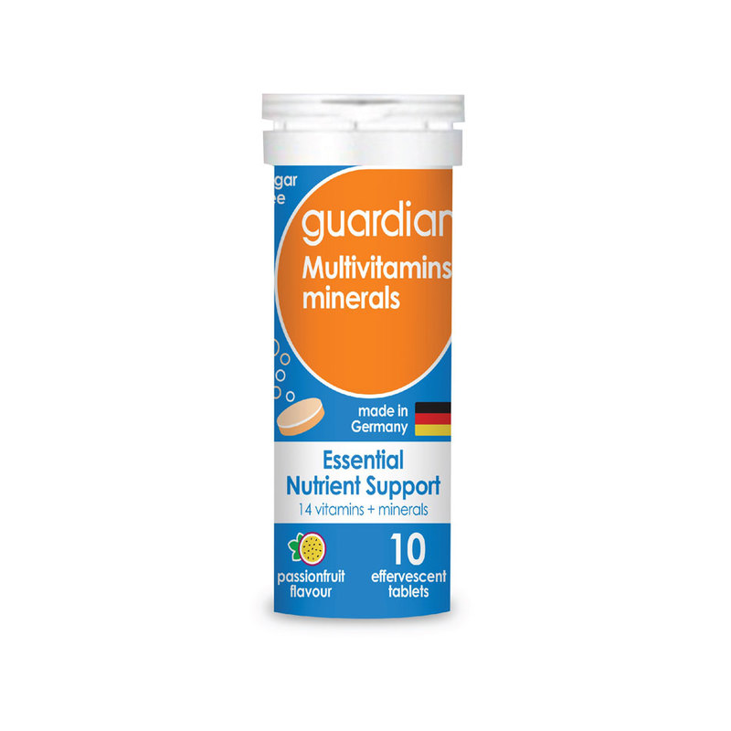 Guardian Multivitamins minerals Effervescent tablets 10 pieces