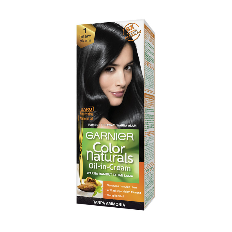 Garnier Colour Naturals Hair Colour Natural Black