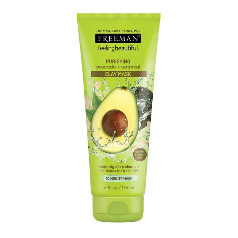 Freeman Purifying Avocado + Oatmeal Clay Mask