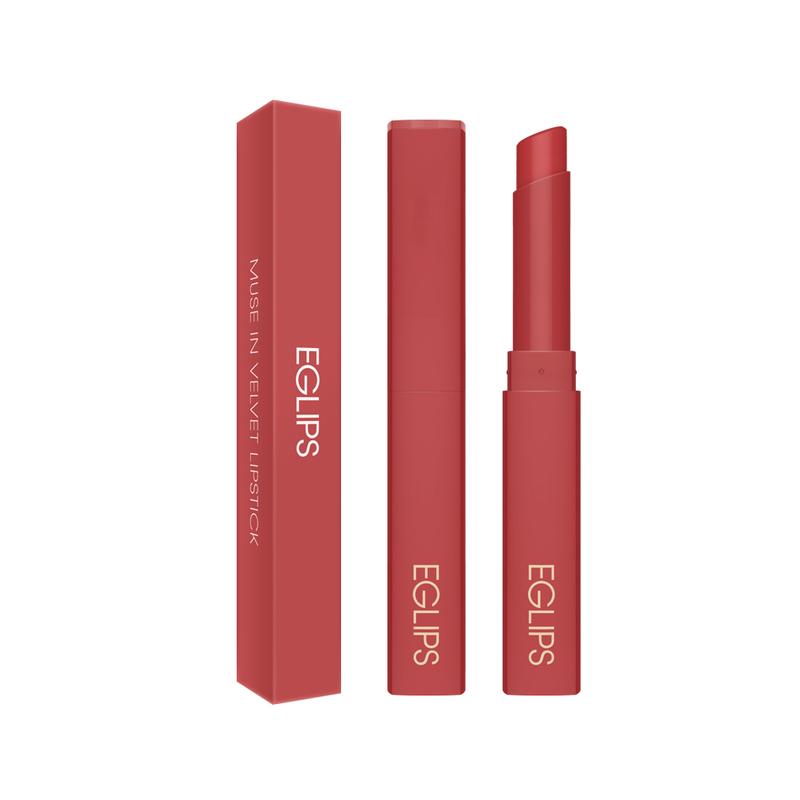 Eglips Muse In Velvet Lipstick V001 Fall In Rosy