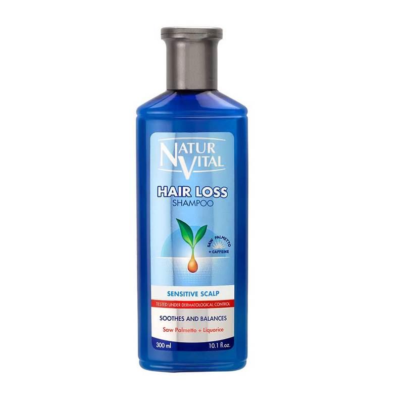 Naturvital Hair Loss Shampoo - Sensitive Scalp ,300ml