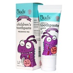Buds Organics Children's Toothpaste with Xylitol (1-3 Years) Blackcurrant 50mL