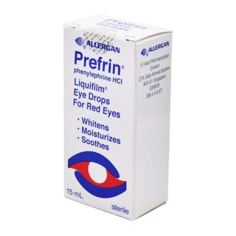 Allergan Prefrin Phenylephrine Hci Eye Drop, 15ml