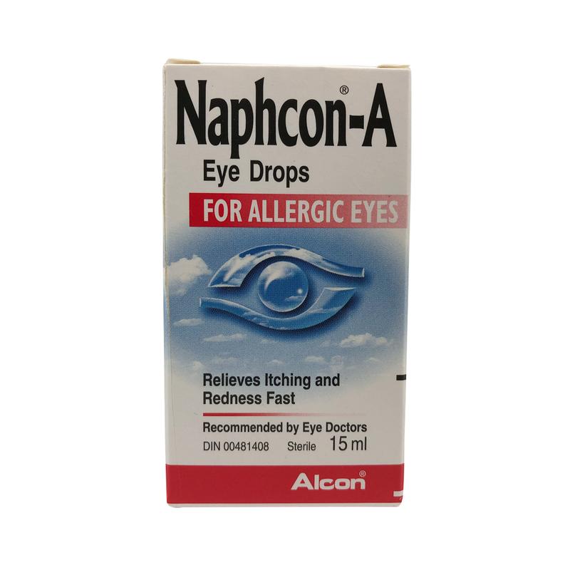 Alcon Naphcon-A Eye Drop 15mL