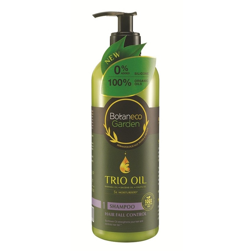 Botaneco Garden Trio Oil Hair Fall Control Shampoo, 500ml