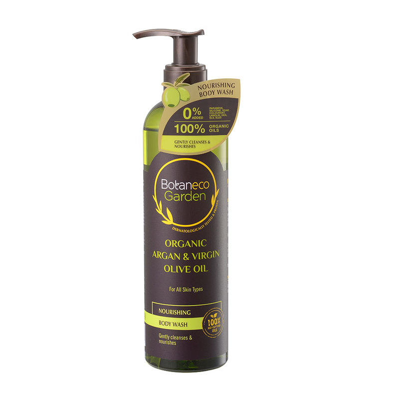 Botaneco Garden Argan and Virgin Olive Oil Body Wash Nourishing, 290ml