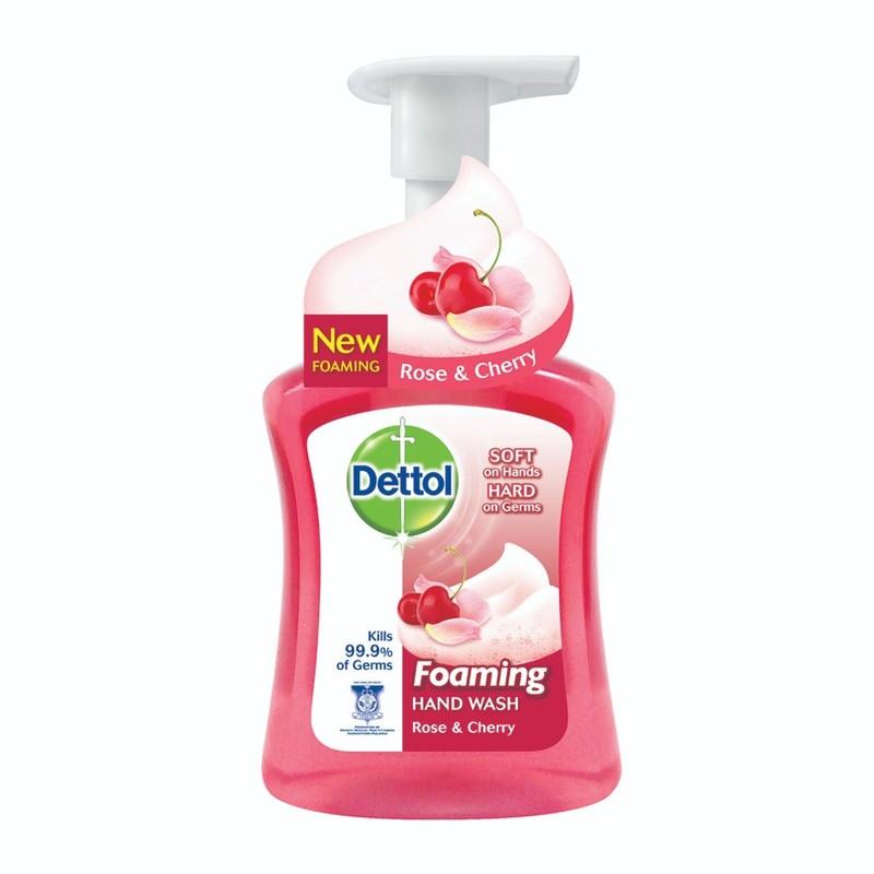 Dettol Foaming Handwash Rose Cherry, 250ml