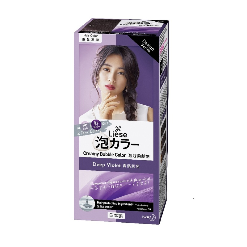 Liese Creamy Bubble Color Deep Violet