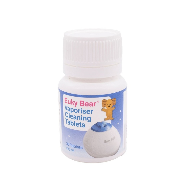 Euky Bear Cleaning Tablets, 30 tablets