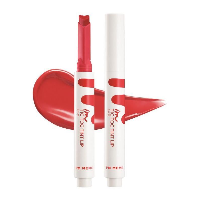 I'm Meme Tic Toc Tint Lip Balm 01 Mild Red, 1.4g