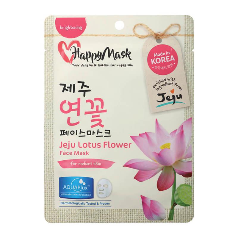 HappyMask Jeju Lotus Flower Face Mask