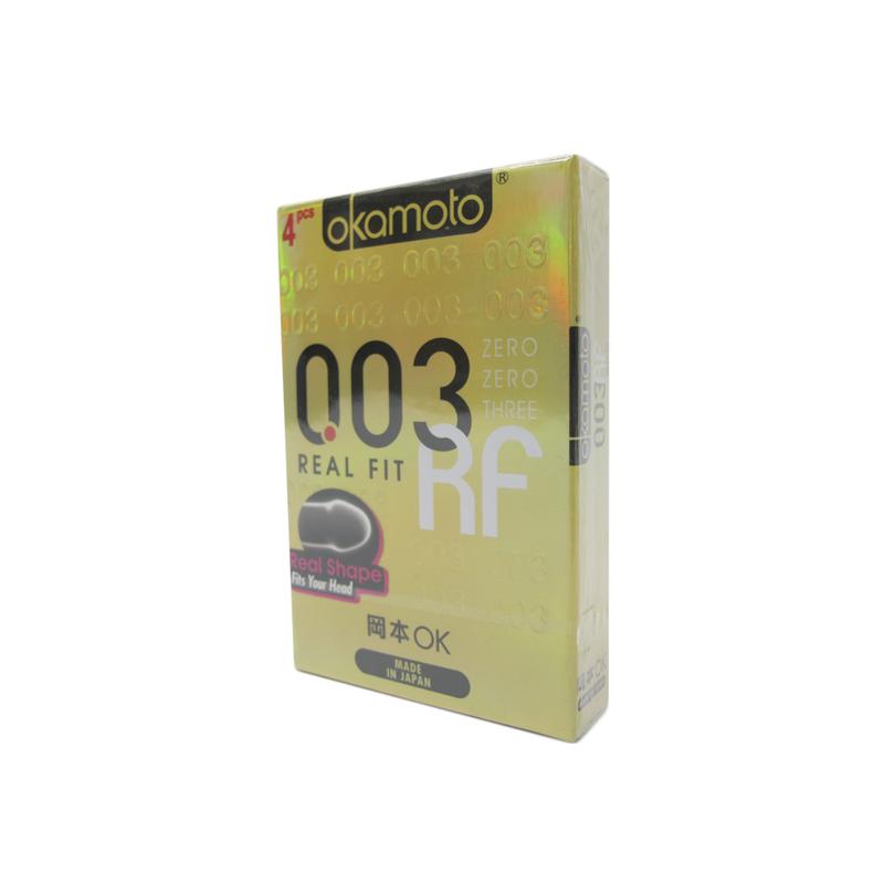 Okamoto 003 Real Fit Condoms, 4pcs