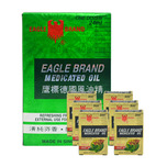 Eagle Medicated Oil, 12x24ml and Refresh, 6x3ml