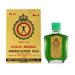 Axe Brand Gold Medal Medicated Oil, 10ml