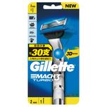 Gillette吉列PROGLIDE 無感系列動力剃鬚刀架 1支 + 刀片 2片
