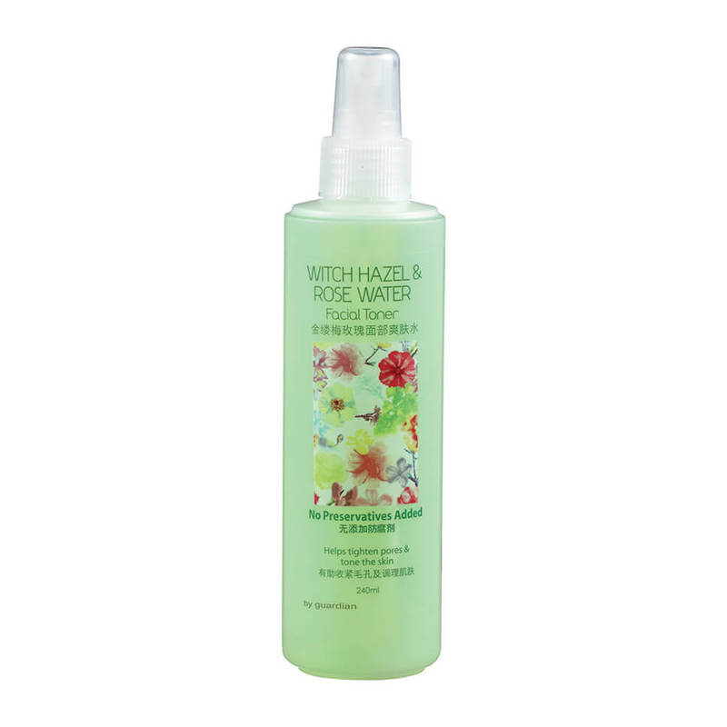 Guardian Witch Hazel and Rose Water Facial Toner, 240ml