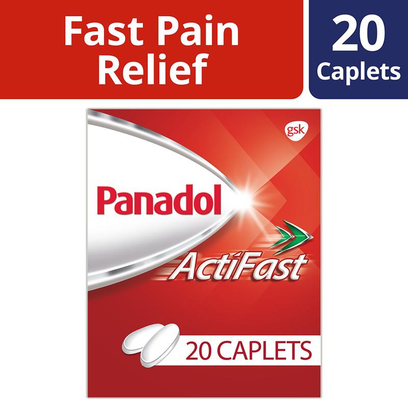 Panadol Actifast, 20 tablets