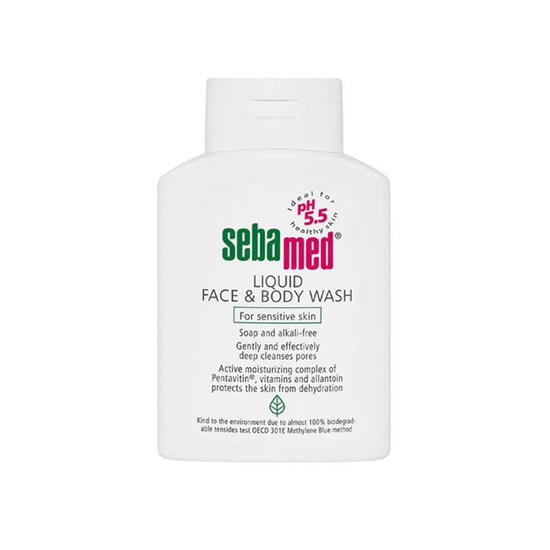 Sebamed liquid Face & Body Wash, 500ml