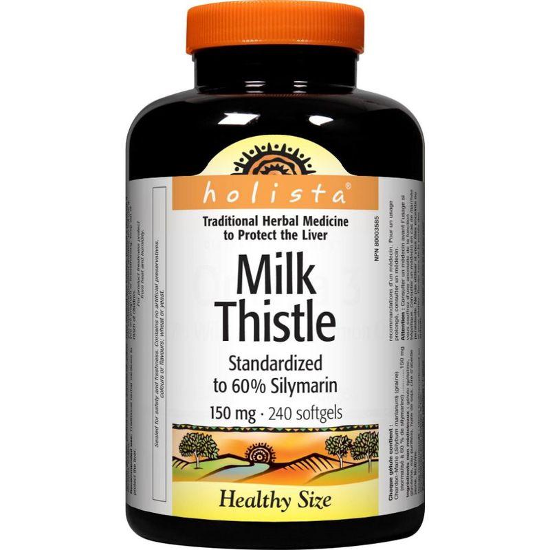Holista Milk Thistle 150mg, 240 tablets