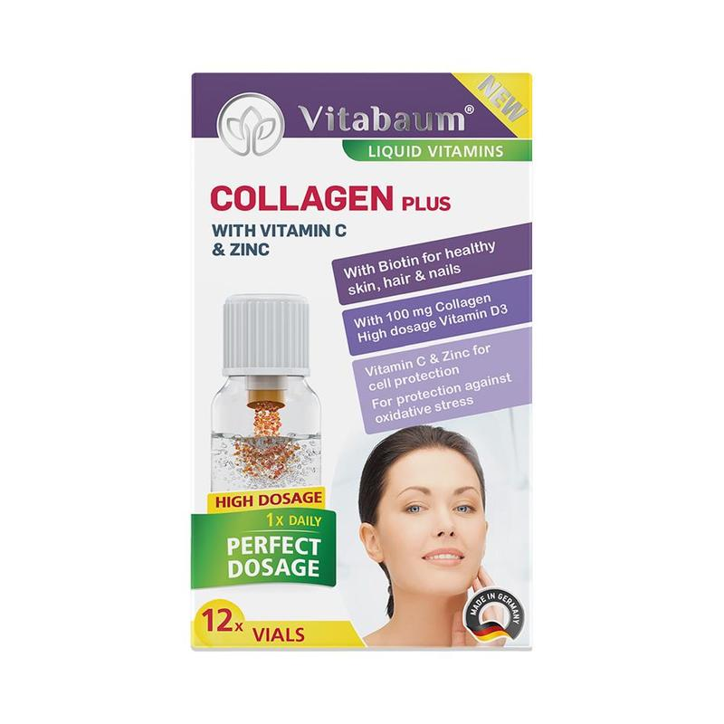Vitabaum  Collagen Plus Vitamins 12 vials, 10ml each