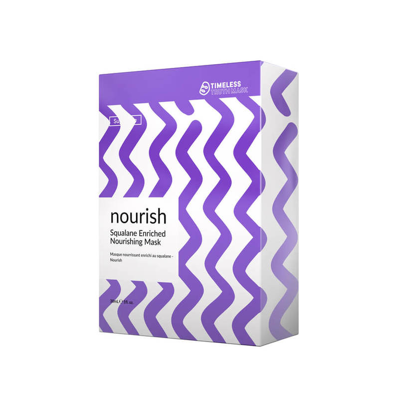 Timeless Truth NOURISH Squalene Enriched Nourishing Mask, 5pcs