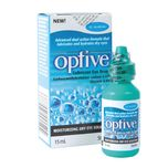 Allergan OPTIVE Lubricant Eye Drop, 15ml