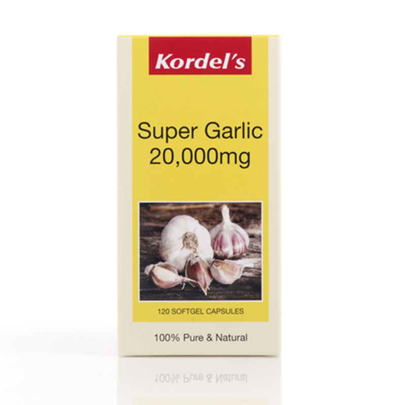 Kordel's Super Garlic 20000mg Concentrate, 120 capsules