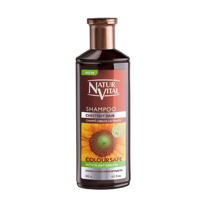 Natur Vital Henna Shampoo Chestnut, 300ml