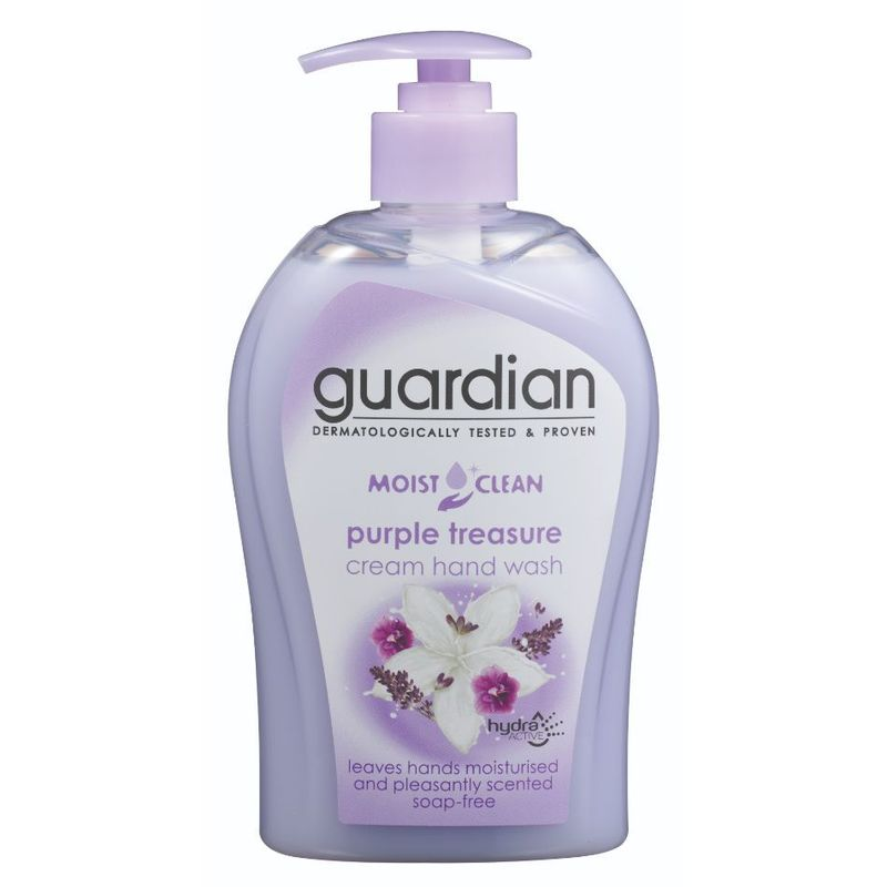 Guardian Moist Clean Cream Hand Wash Purple Treasure, 500ml