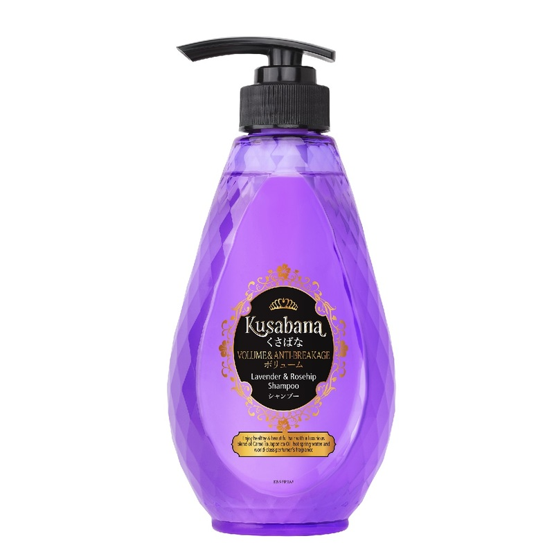 Kusabana Volume & Anti Breakage Shampoo 490mL