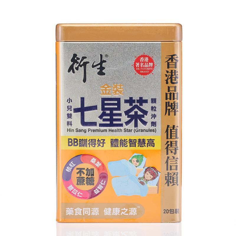 Hin Sang Premium Health Star Granules 10g X 20 bags
