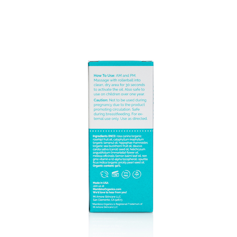 Mambino Organics Skin Rebound Booster Roll On 10mL