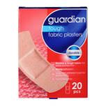 Guardian Tough Fabric Plasters, 20pcs