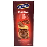McVitie's Digestive Thins Milk Chocolate 100g