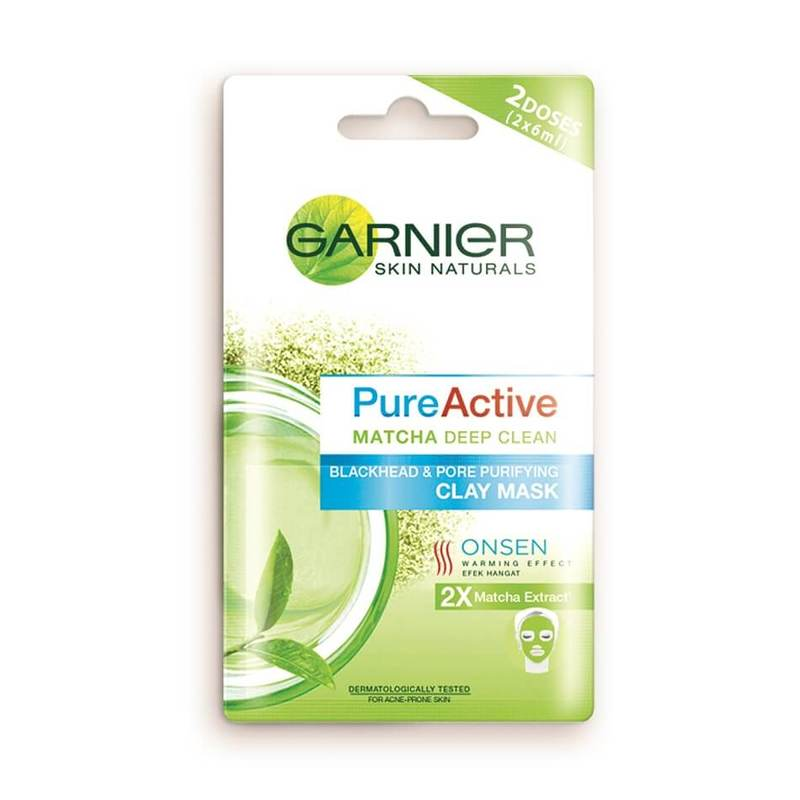 Garnier Pure Active Matcha Clay Mask