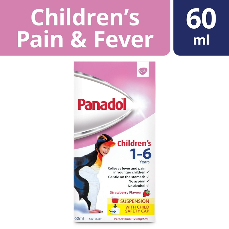 Panadol Children's Suspension 1 to 6 Years, 60ml