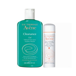 Avene Cleanance Gel Soapless Cleanser, 200ml with Thermal Spring Water, 50ml