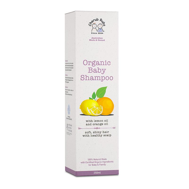 Cherub Rubs Organic Baby Shampoo, 250ml