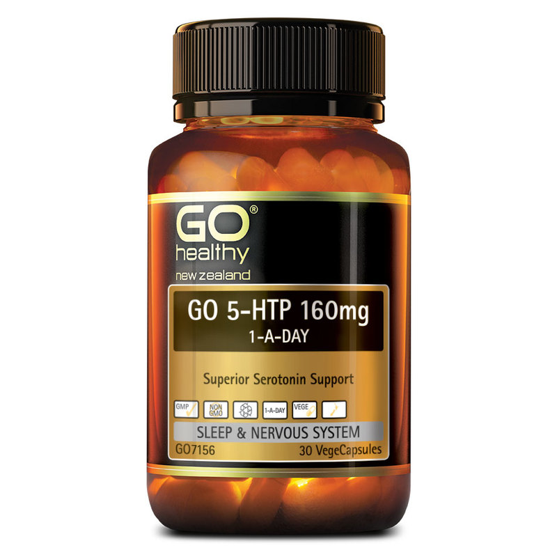 GO Healthy 5-HTP 160mg, 30 capsules